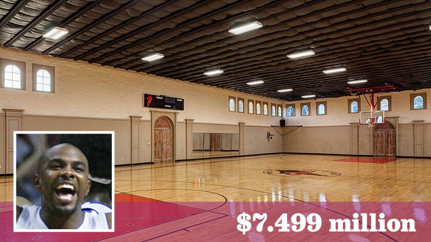 Nba Journeyman Mike James Prices Sports Compound At 7 5 Million Los Angeles Times