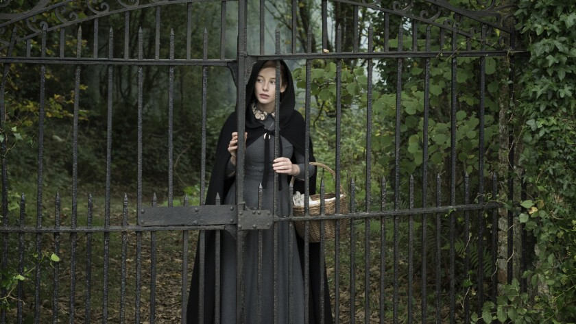 """Charlotte Vega as Rachel in a scene from the movie """"The Lodgers."""" Credit: Epic Pictures"""