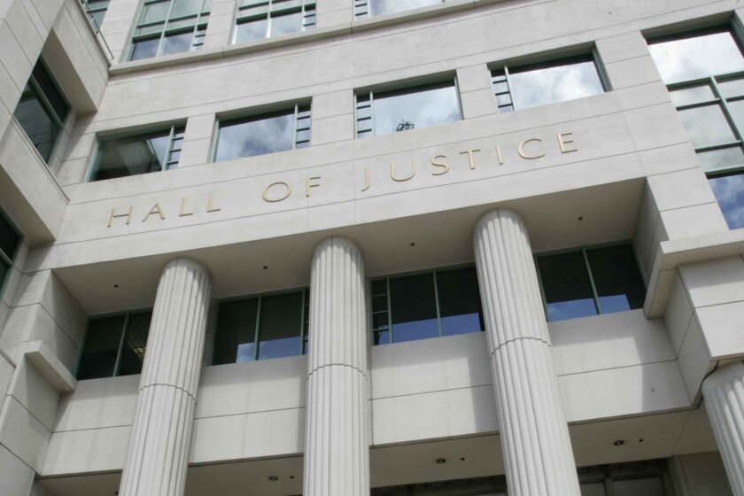 San Diego's Hall of Justice.