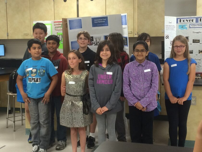 Elementary students from two districts were recognized for their work and ingenuity. Courtesy photos