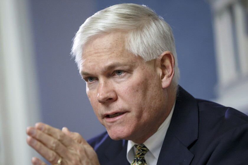 Former GOP congressman