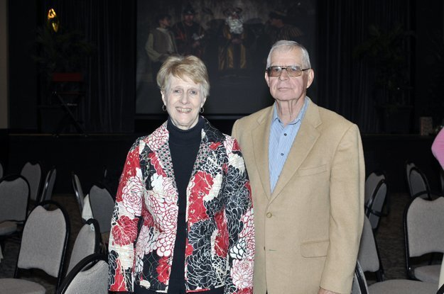 Larry Wood and honoree Margie Wood