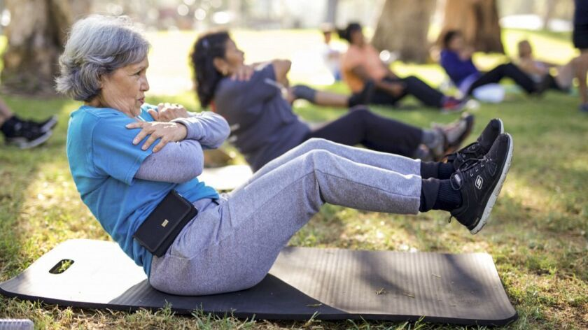 Regular free workouts are provided by CSUN students of kinesiology around Los Angeles and its suburb