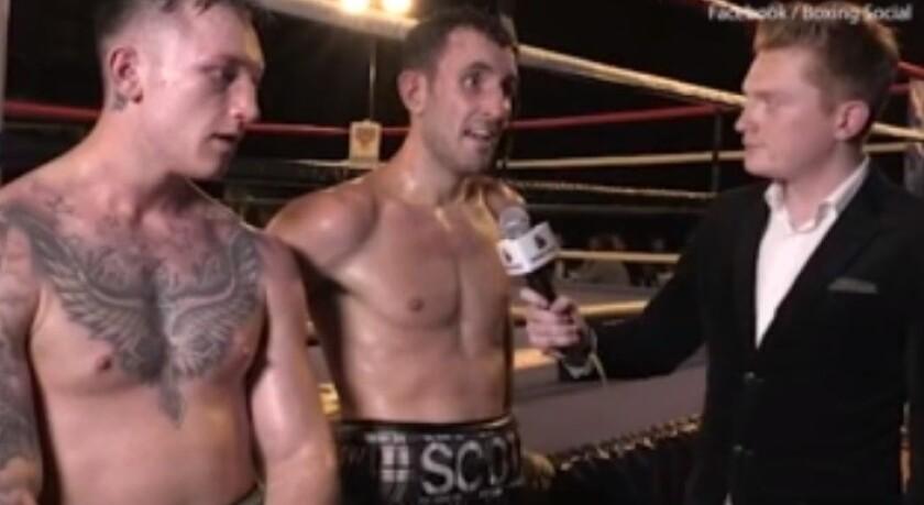 VIDEO: Boxeador inglés batalla durante entrevista tras ganar, muere horas después
