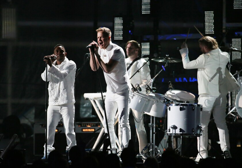 Imagine Dragons and Kendrick Lamar, performing at the Grammy Awards in January, will top the bill of acts slated to perform at the first L.A. edition of Jay Z's the Budweiser Made in America festival over Labor Day weekend.