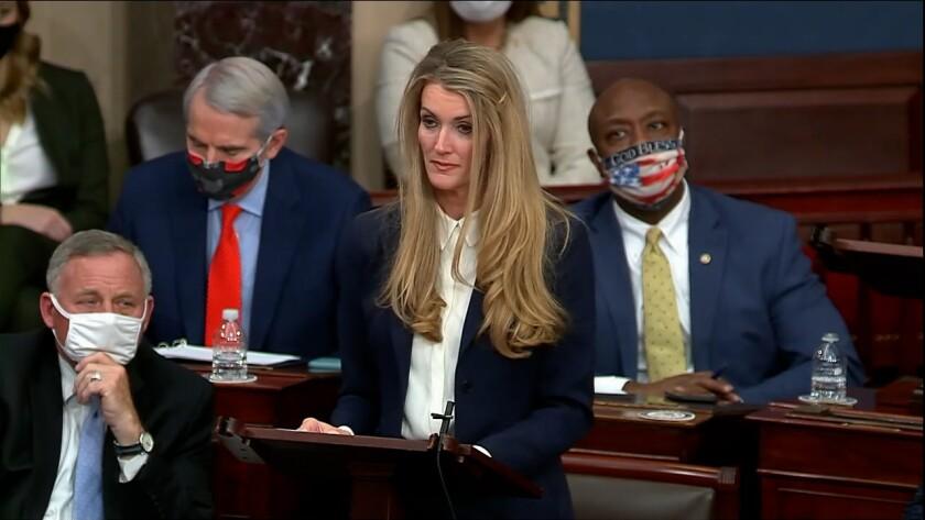 Kelly Loeffler at the Senate