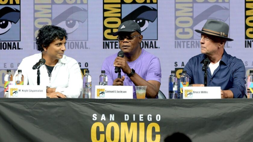 """Comic-Con International 2018 - Universal Pictures' """"Glass"""" And """"Halloween"""" Panels"""