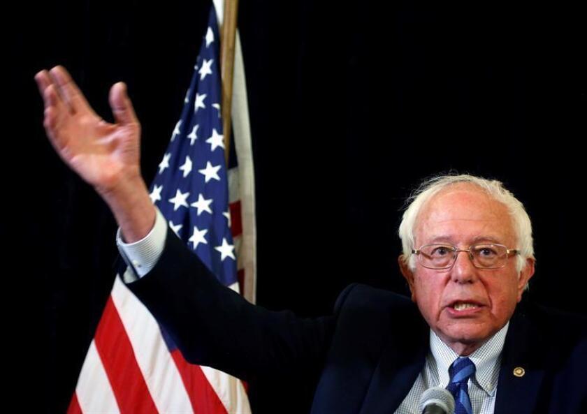 El senador por Vermont Bernie Sanders anunció hoy que continuará con su campaña por la nominación demócrata a la presidencia de Estados Unidos hasta la convención nacional de su partido, que se celebrará en julio.