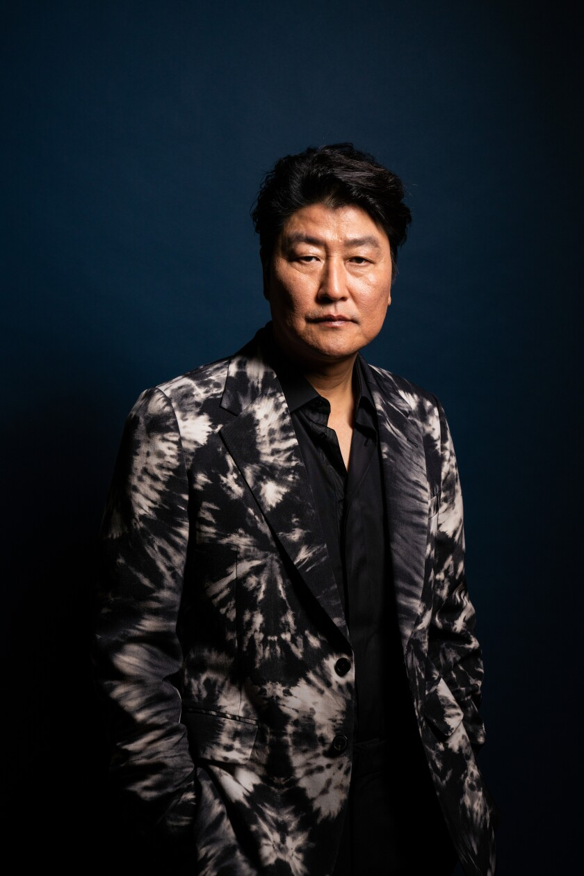 "South Korean actor Song Kang Ho, from the film ""Parasite."""