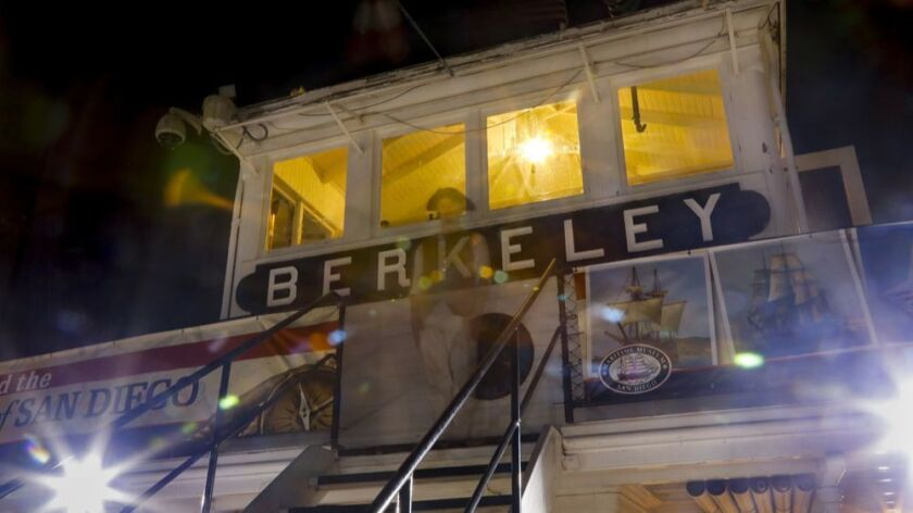 Berkeley Steam Ferry Boat hosts many a ghost on board.
