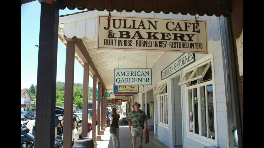 Julian still has historic charm but apples are in short supply this fall because of the drought.