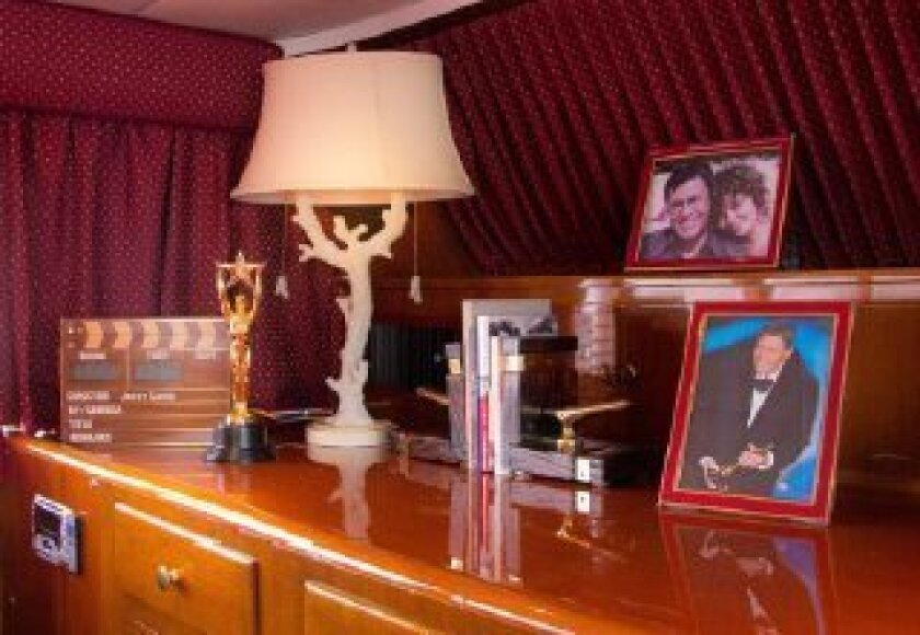 Much of the comedian's memorabilia will stay with the boat, including personal photographs.