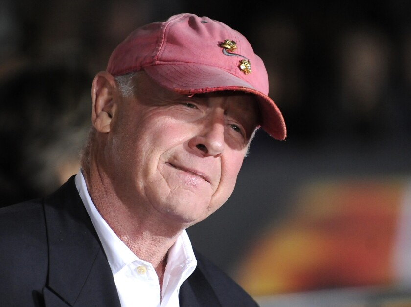 """Tony Scott arrives at the Los Angeles premiere of """"Unstoppable."""""""