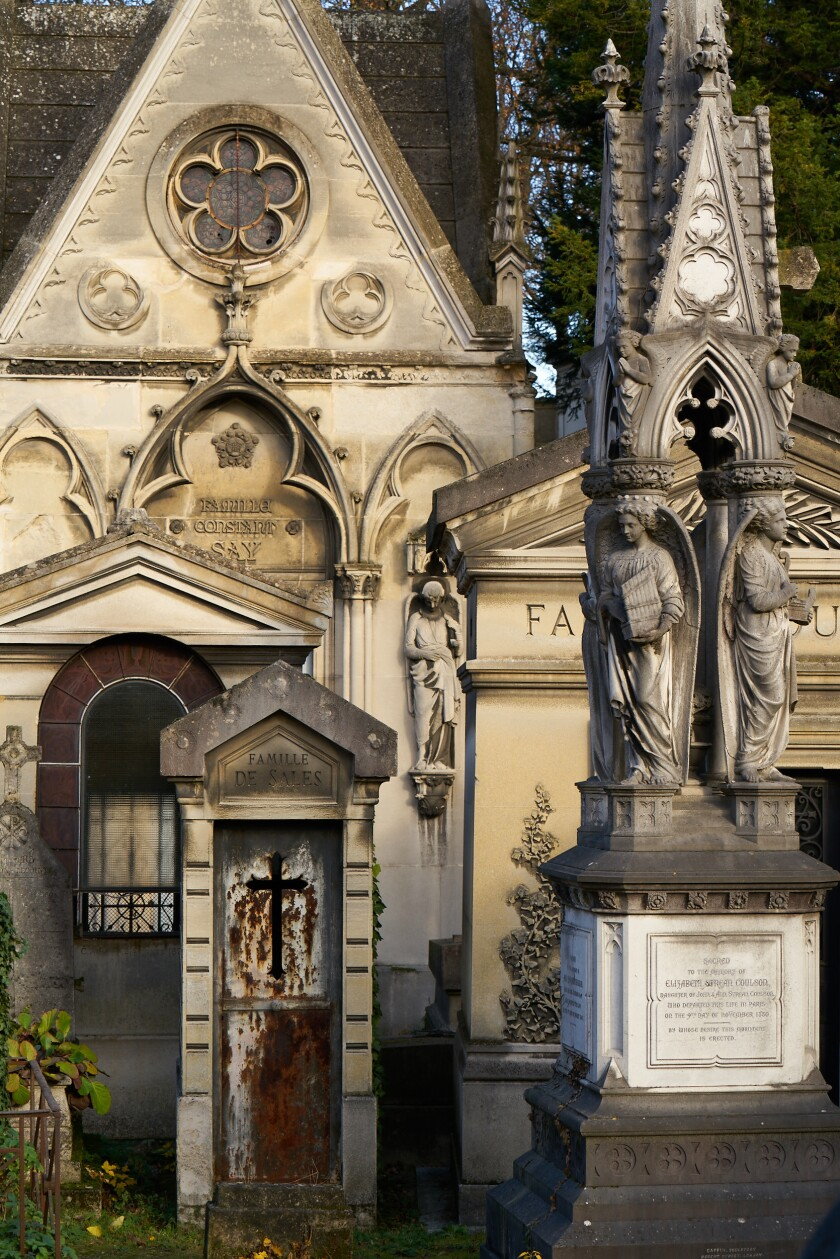 Père-Lachaise Cemetery, touted as the most visited cemetery in the world.