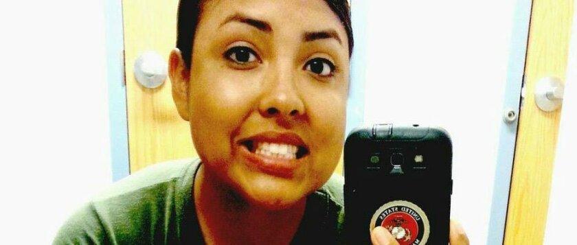 Ashley Jackson, 20, active-duty Marine