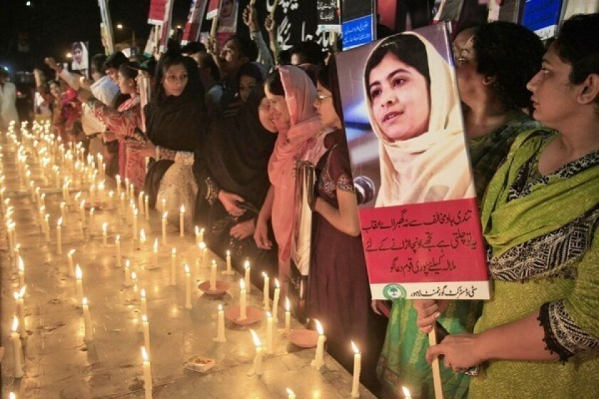 Pakistan outraged over girl's shooting, but crackdown on Taliban unlikely