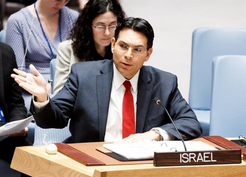 Danny Danon, Israel's Ambassador to the United Nations. EFE/EPA/FILE