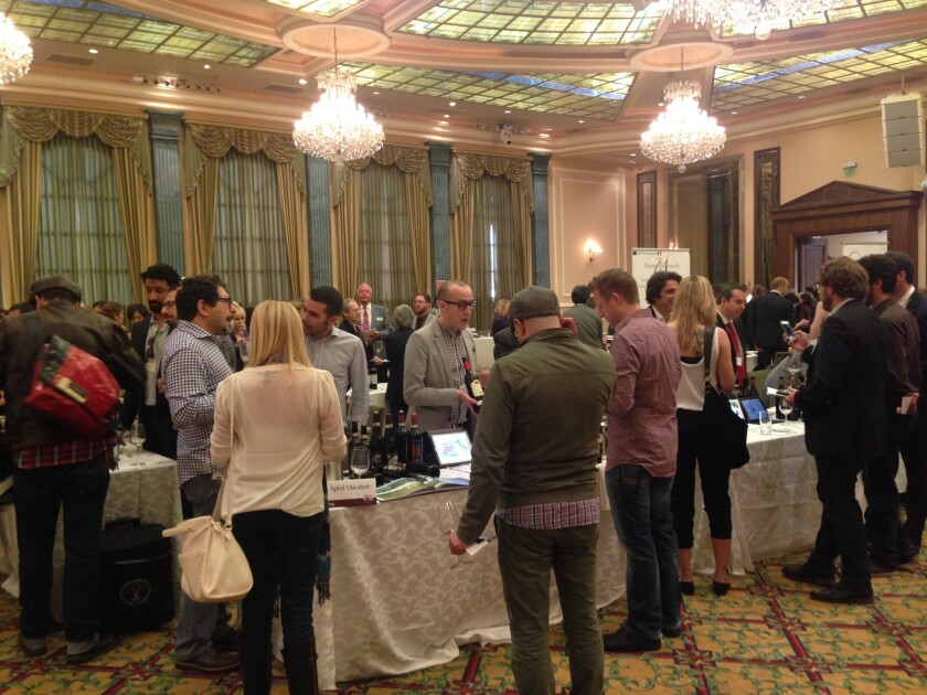 """The Slow Wine event in Los Angeles presented the wines of 53 producers who are listed in the """"Slow Wine Guide 2015."""""""