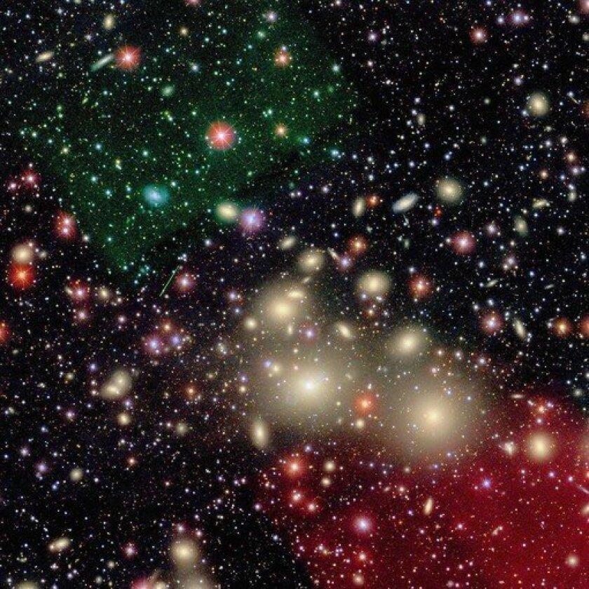 Gargantuan black hole baffles scientists