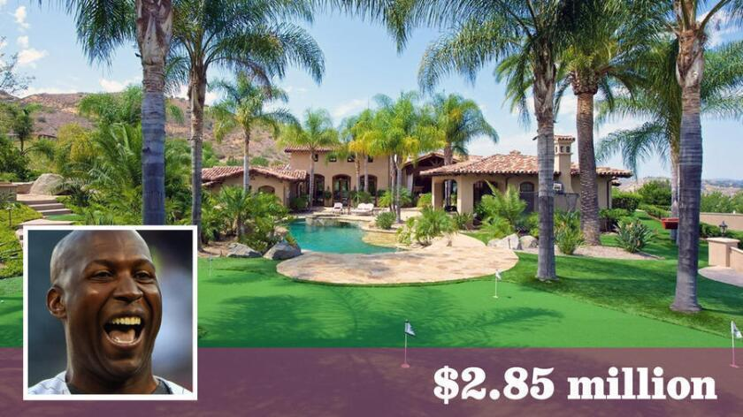Retired baseball player Jermaine Dye has sold his Poway estate for $2.85 million. The four-plus-acre spread was previously owned by professional basketball player Mo Williams.