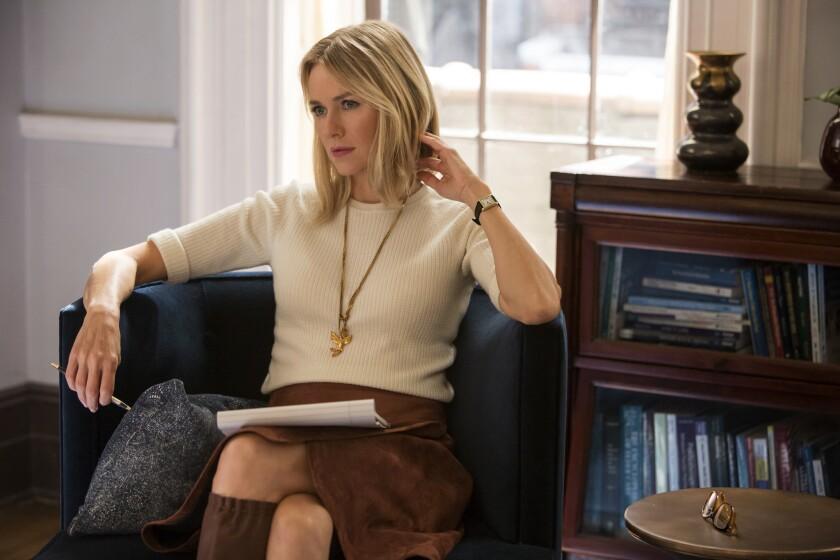 "Naomi Watts as Jean Holloway in Netflix's ""Gypsy."" Credit: Alison Cohen Rosa / Netflix"