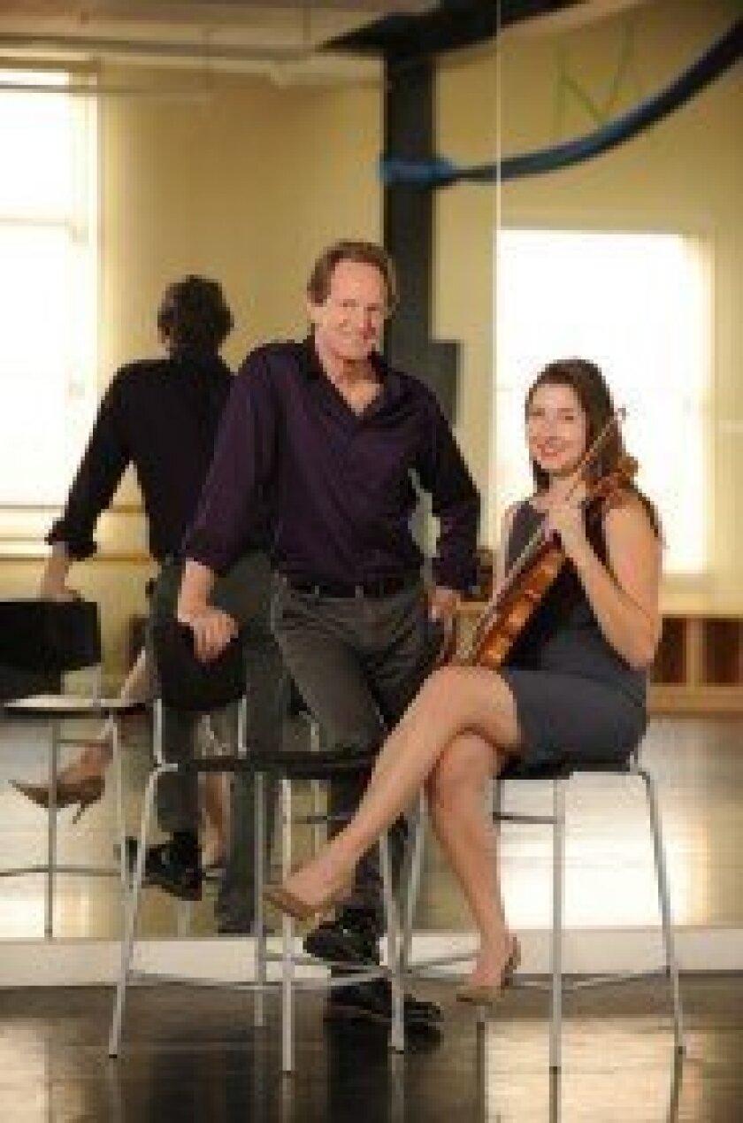 John Malashock with Art of Élan's Kate Hatmaker. Doug Gates