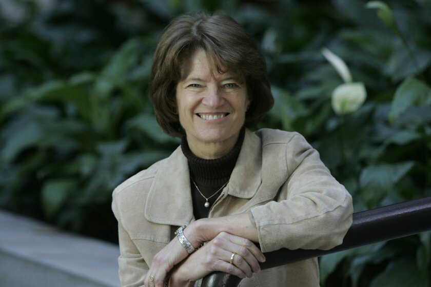 The late Sally Ride, photographed in 2006.