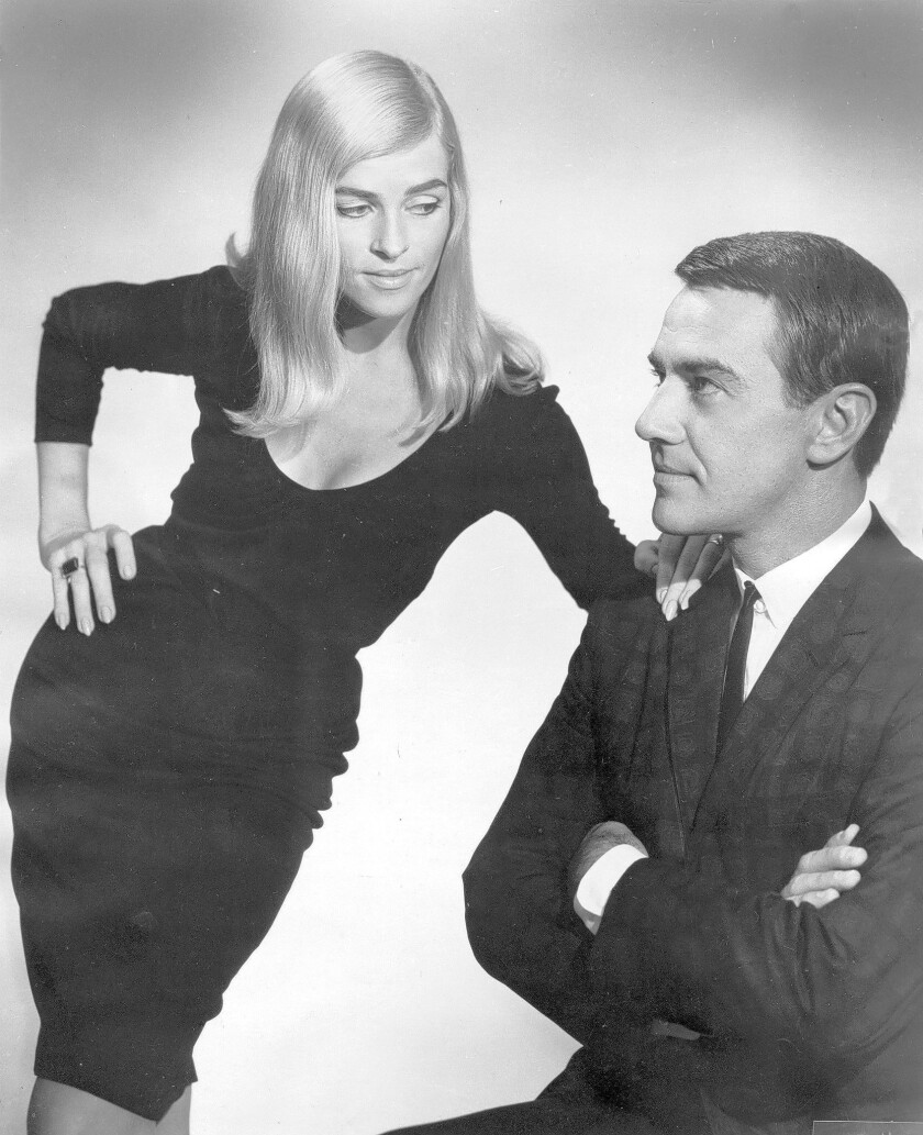 Jackie Cain and Roy Kral in in 1964. The couple, who performed together as Jackie and Roy, were married for 53 years.