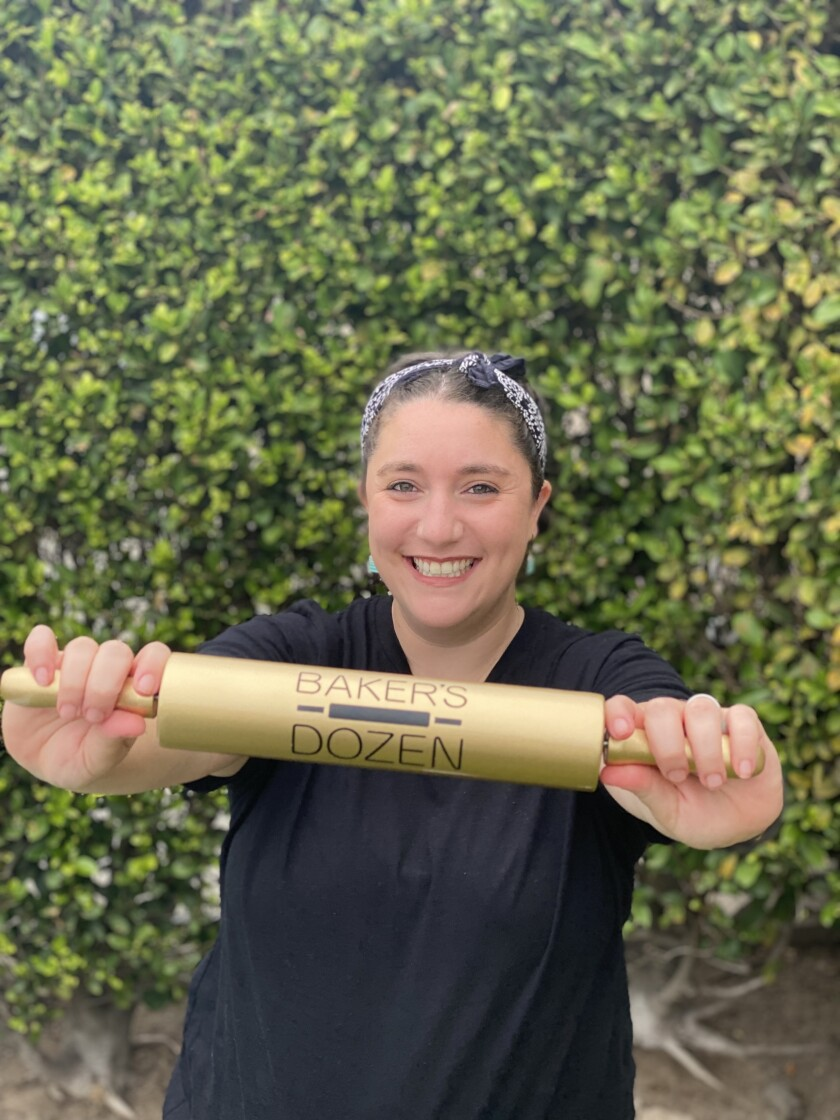 """Lisa Altfest won Hulu's """"Baker's Dozen"""" and the golden rolling pin."""
