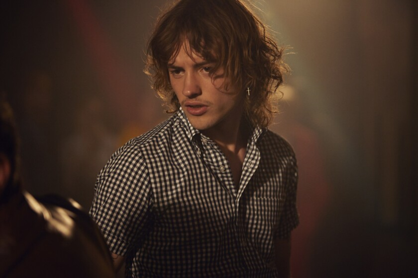"""Joshua Whitehouse plays a DJ in 1970's Northern England in the movie """"Northern Soul."""""""