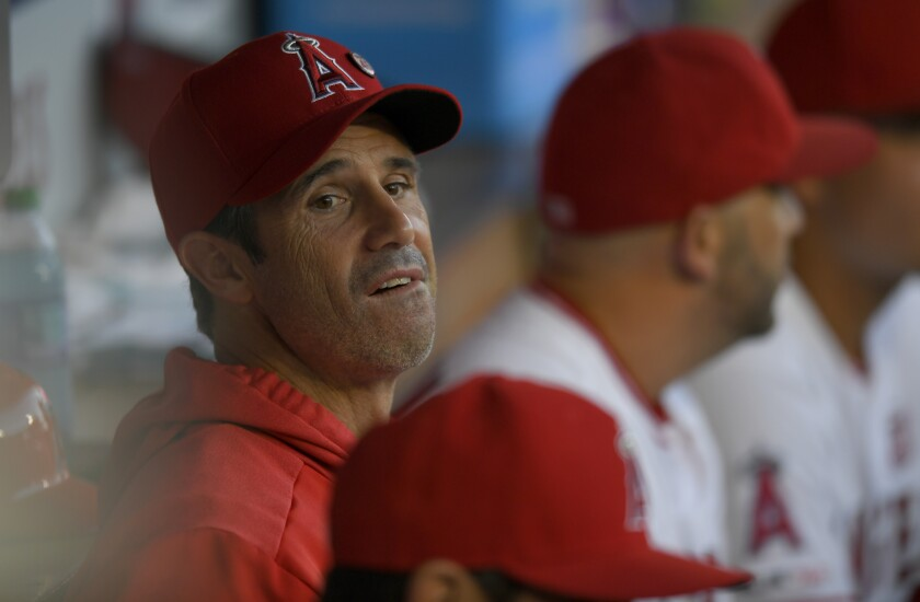 Brad Ausmus' first year as manager of the Angels has been a challenging one.