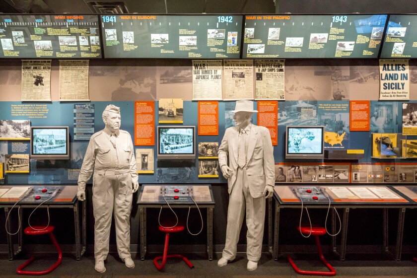 The Bradbury Science Museum contains exhibits about Los Alamos National Laboratory.