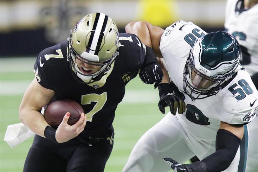 La victoria permite a los Saints volver a la final de la NFC que disputarán el próximo domingo ante los Rams de Los Angeles, que ganaron por 30-22 a los Cowboys de Dallas, en el primer partido de la serie que se disputó el sábado. EFE