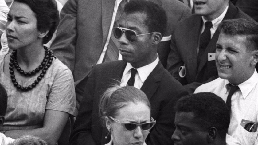 "James Baldwin, subject of the Oscar-nominated documentary ""I Am Not Your Negro."""
