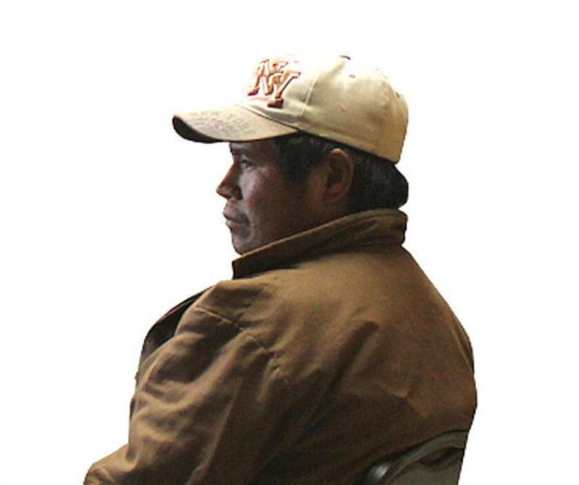 Fotografía cedida por la organización RedTDT hoy, jueves 2 de febrero de 2017, que muestra una imagen de archivo sin fechar del líder indígena Juan Ontiveros Ramos, quien fue asesinado en el municipio de Guadalupe y Calvo del norteño estado mexicano de Chihuahua (México), según informó hoy la Fiscalía estatal. EFE/REDTDT/SOLO USO EDITORIAL/MEJOR CALIDAD DISPONIBLE