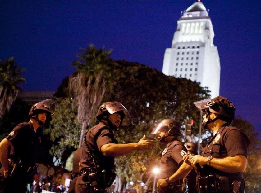 ¿Había bombas dirigidas a Los Ángeles?
