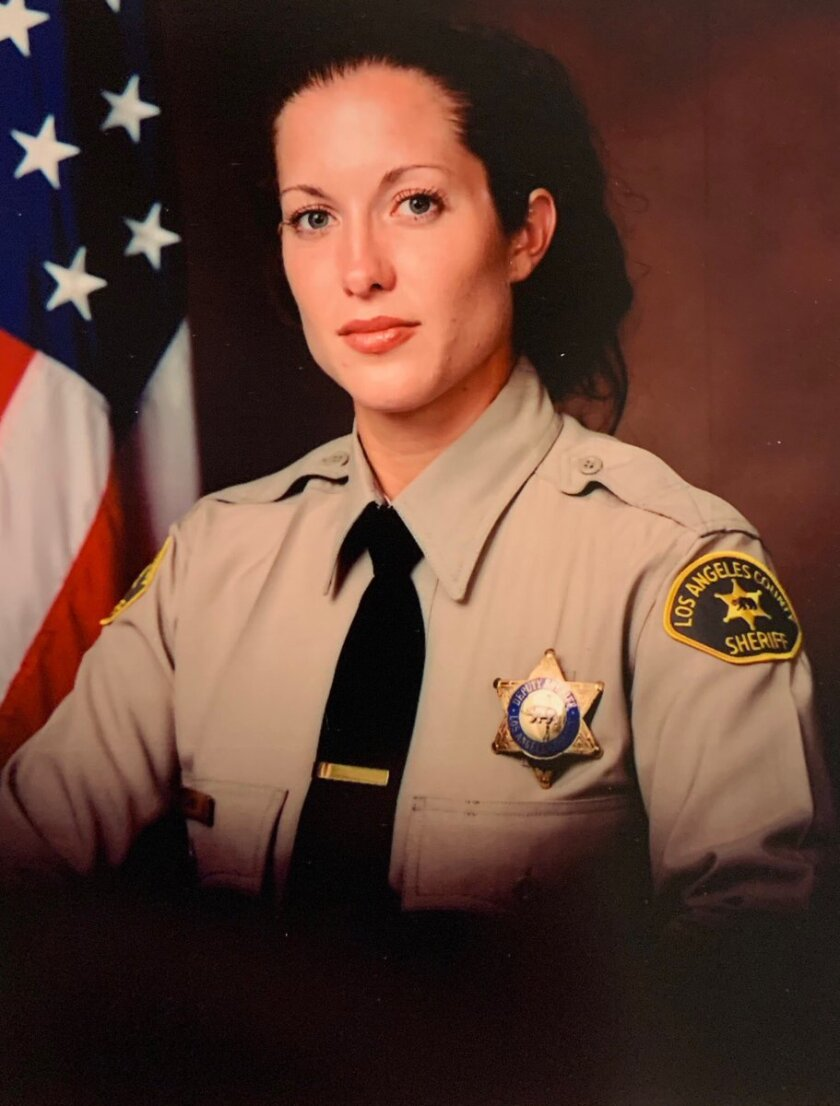Los Angeles County Sheriff's Department Det. Amber Leist, 41, was struck and killed Sunday in Valley Village while rendering aid to an elderly woman.