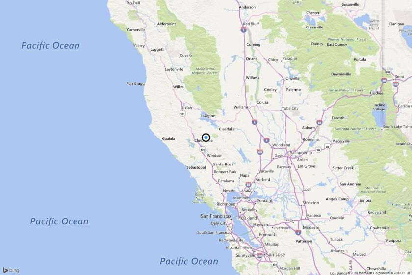 Earthquake: 3.0 quake strikes near Black Oaks, Calif.