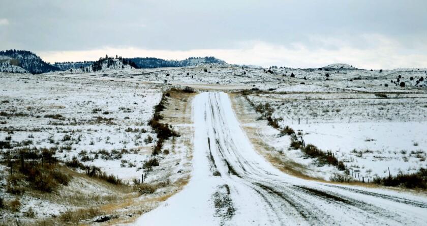 Southwest Montana coal country