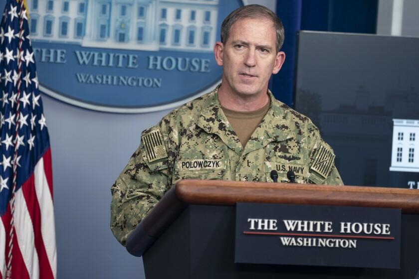 Navy Rear Adm. John Polowczyk