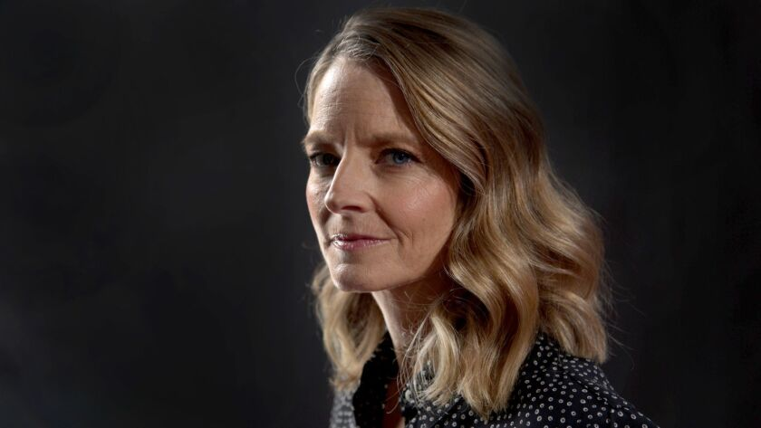 LOS ANGELES, CA., MAY 21, 2018--Jodie Foster is an actress, director, and producer. who began her pr