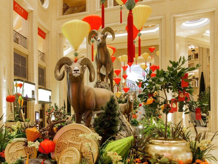 Chinese New Year at the Venetian and Palazzo
