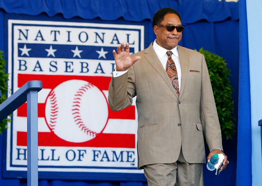 Hall of Famer Dave Winfield