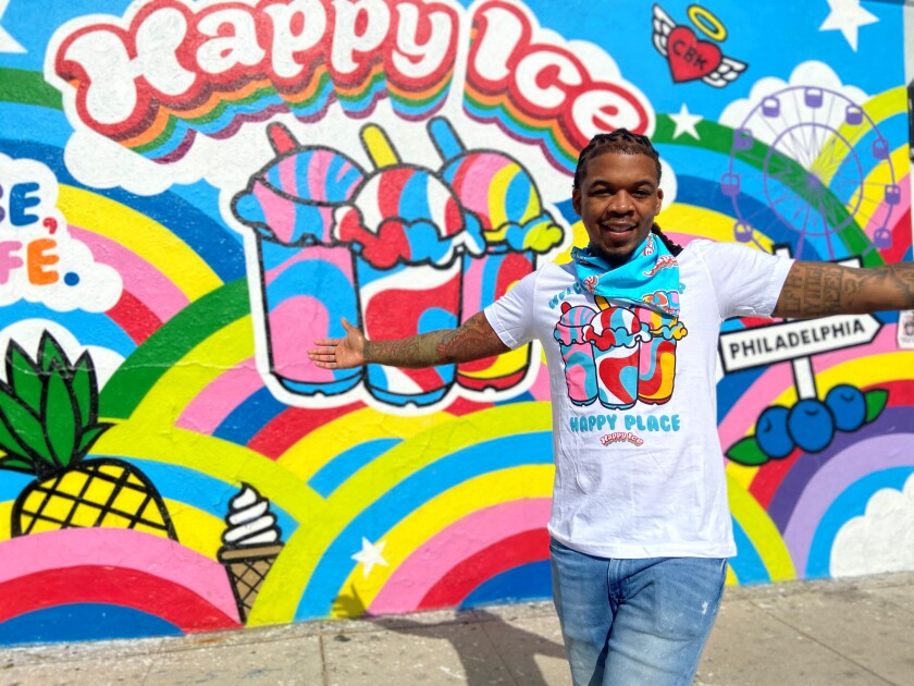 Lemier Mitchell, the owner of Happy Ice