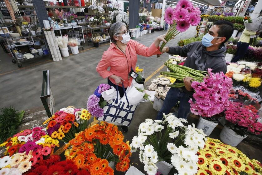 Sunrise Wholesale Flowers at The Original Los Angeles Flower Market