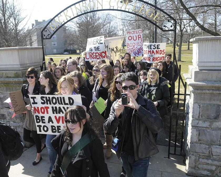 College Rape Protest