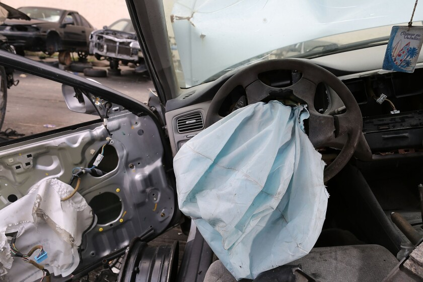 The largest automotive recall in history centers on the defective Takata Corp. air bags that are found in millions of vehicles that are manufactured by BMW, Chrysler, Daimler Trucks, Ford, General Motors, Honda, Mazda, Mitsubishi, Nissan, Subaru and Toyota.