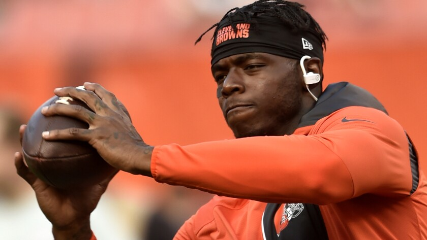 Browns receiver Josh Gordon has been suspended for 43 of his last 48 games.