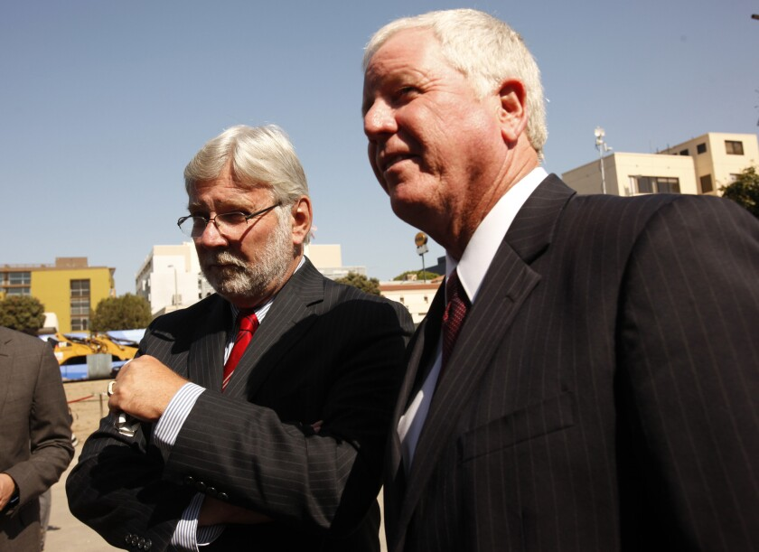Metro CEO Art Leahy, left, is overseeing the departures of several key Metro executives.