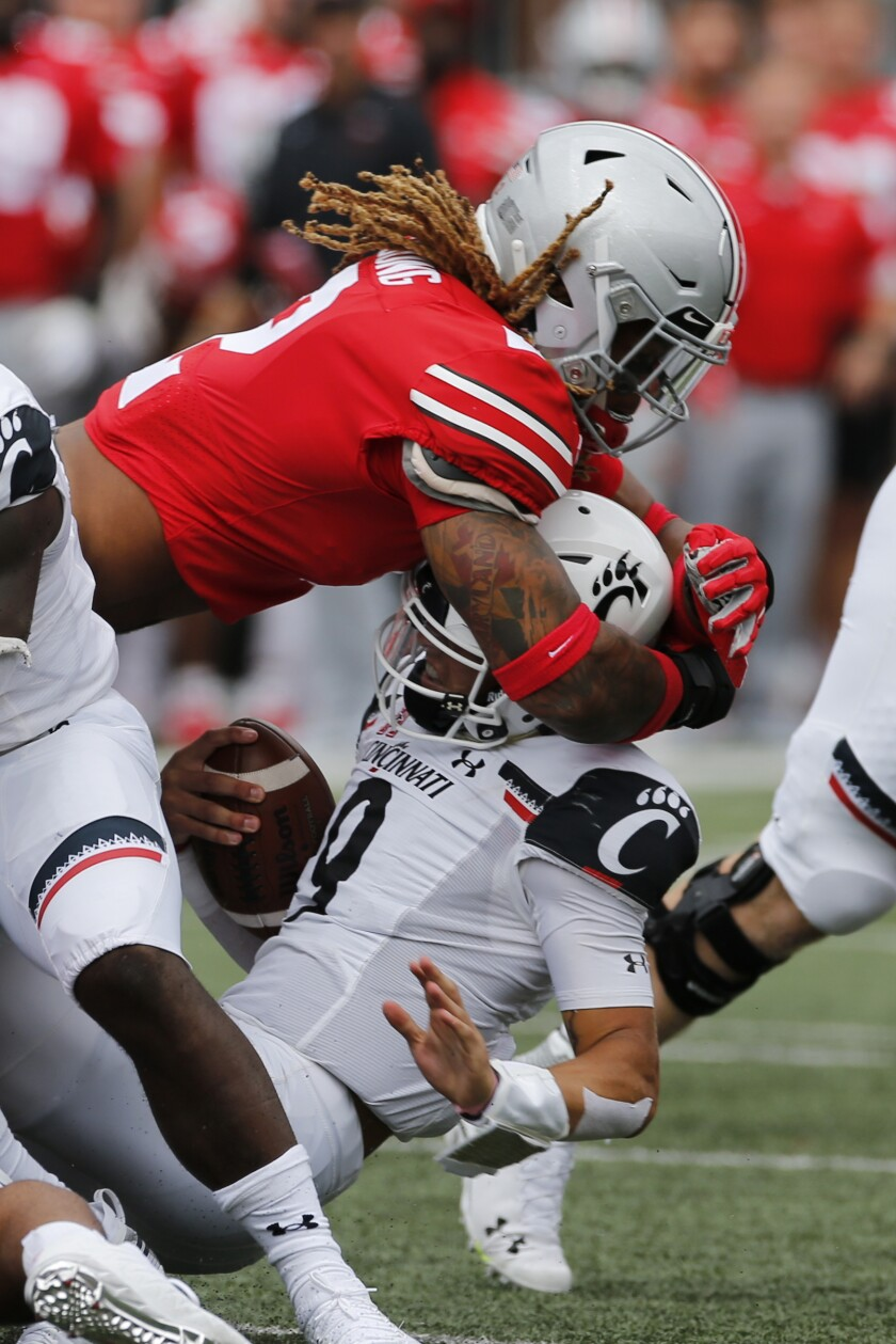 Ohio St Chase Young Football